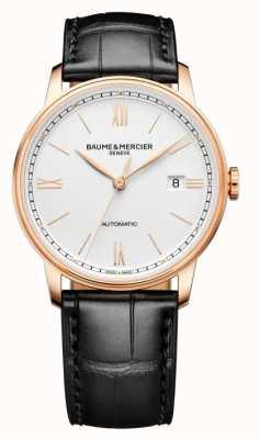 Baume & Mercier Classima Automatic Black Leather Strap M0A10597