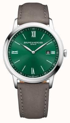 Baume & Mercier Classima Quartz Green Dial Watch M0A10607