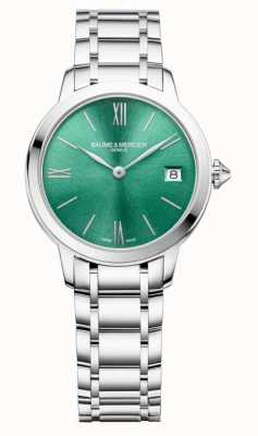 Baume & Mercier Classima 31mm Green Sunray Dial M0A10609