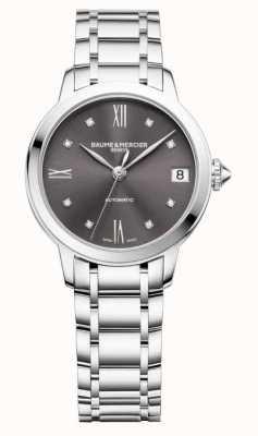 Baume & Mercier Classima Grey Sunray Dial Diamond Set M0A10610