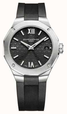 Baume & Mercier Riviera Quartz Black Dial Watch M0A10613