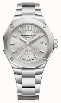 Baume & Mercier Riviera Silver Sunray Dial Watch M0A10615