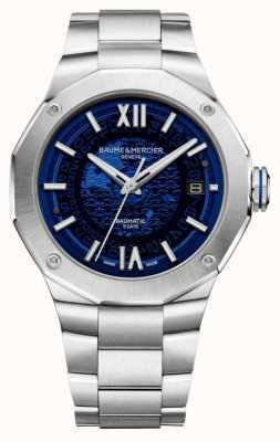 Baume & Mercier Men's Riviera Automatic Blue Skeleton Dial M0A10616