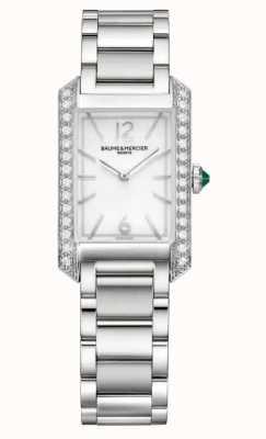 Baume & Mercier Women's Hampton Diamond Set Watch M0A10631