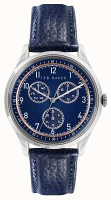 Ted Baker DAQUIRMULTI | Blue Dial | Blue Leather Strap BKPDQS107
