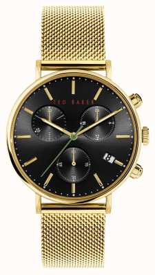 Ted Baker Mimosaa | Black Dial | Gold Strap BKPMMS118