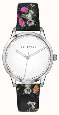 Ted Baker Fitzrovia Bloom | White Dial | Floral Strap BKPFZS115