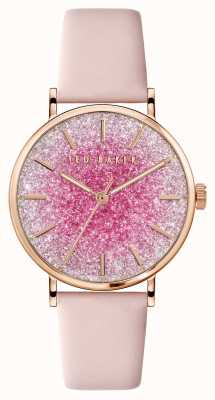 Ted Baker Phylipa | Pink Dial | Pink Leather Strap BKPPHS136