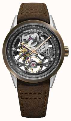 Raymond Weil Freelancer | Bronze | Automatic | Brown Leather Strap 2785-SBC-60000