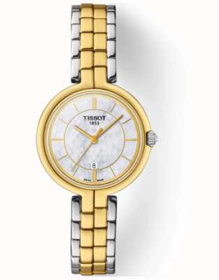 Tissot T-Lady Flamingo Mother of Pearl Dial T0942102211101