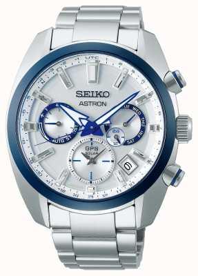 Seiko Astron 140th Anniversary Stainless Steel Watch SSH093J1