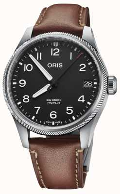 ORIS Big Crown ProPilot Big Date Brown Leather 01 751 7761 4164-07 6 20 07LC