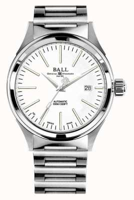 Ball Watch Company Fireman Automatic 40mm White Dial NM2098C-S20J-WH