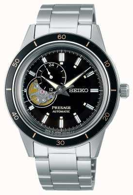 Seiko Presage Style 60s Black Dial Watch SSA425J1