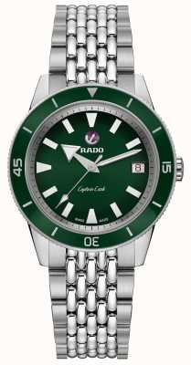 RADO 'Captain Cook' Automatic Stainless Steel Bracelet Green Dial R32500328
