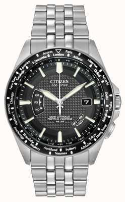 Citizen Radio-Controlled World Perpetual Calendar CB0020-50E