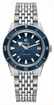 RADO 'Captain Cook' Automatic Stainless Steel Bracelet Blue Dial R32500203