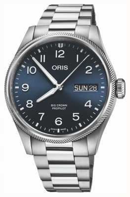 ORIS Big Crown ProPilot Big Date Blue Dial 01 752 7760 4065-07 8 22 08P