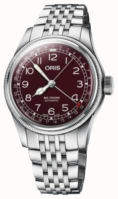 ORIS Big Crown Pointer Date 40 mm Red Dial 01 754 7741 4068-07 8 20 22