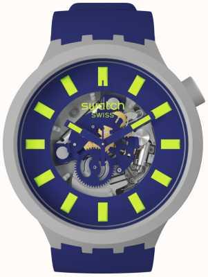 Swatch LIMY | Big Bold Bioceramic | Blue Strap SB03M103