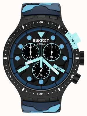 Swatch ESCAPEOCEAN | Big Bold Chrono | Blue Strap SB02B408