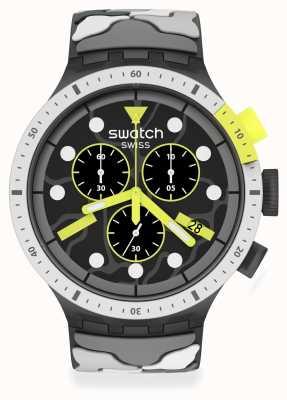 Swatch ESCAPEARTIC | Big Bold Chrono | Camo Strap SB02M400
