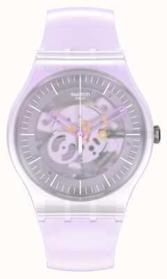 Swatch PINK MIST | New Gent | Silicone Strap SUOK155