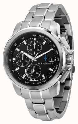 Maserati Successo Solar Men's Stainless Steel Bracelet R8873645003