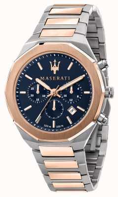 Maserati Stile Chronograph Men's Dual Colour Watch R8873642002