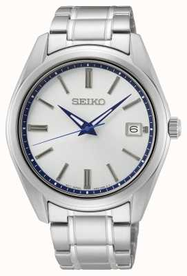 Seiko 140th Anniversary White Sunray Dial Watch SUR457P1
