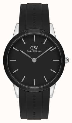 Daniel Wellington Iconic Motion 40mm Black and Silver DW00100436