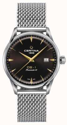 Certina DS-1 Powermatic 80 Brown Dial Watch C0298071129102