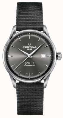 Certina DS-1 Powermatic 80 Grey Dial Watch C0298071108102