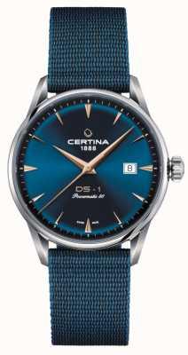 Certina DS-1 Powermatic 80 Blue Dial Watch C0298071104102