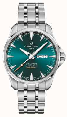 Certina DS Action Day-Date Powermatic 80 Green Dial C0324301109100