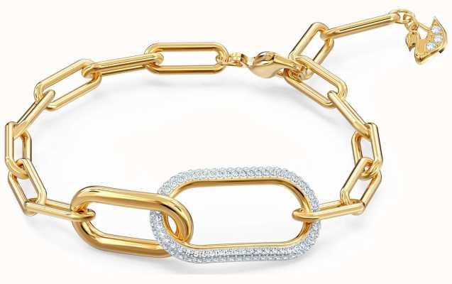 Swarovski Time | Mixed Metal Bracelet | White 5566003