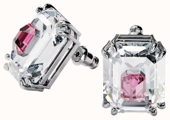 Swarovski Chroma Earrings | Pink | Rhodium Plated 5600627