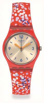 Swatch Originals | CONFETTINI ROSSI | Multicoloured Strap LR136
