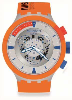 Swatch Big Bold | LAUNCH | Orange Strap SB04Z401