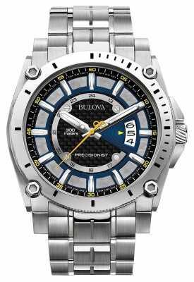 Bulova Precisionist Mens Champlain Sapphire 96G131