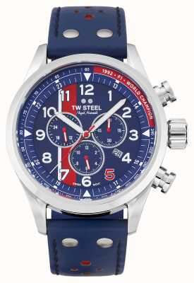 TW Steel | Volante | Nigel Mansell Limited Edition | Blue Chronograph | SVS307