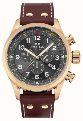 TW Steel Swiss Volante Rose Gold PVD Plated Stainless Steel SVS203