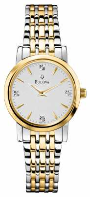 Bulova Womens Diamond 98P115