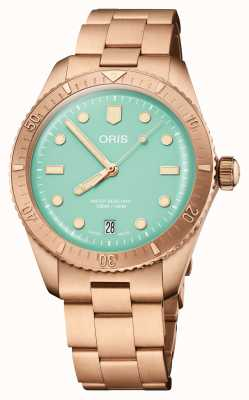 ORIS Divers Sixty-Five Cotton Candy Green 01 733 7771 3157-07 8 19 15
