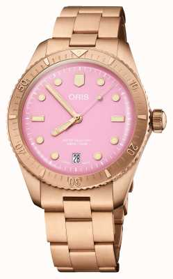 ORIS Divers Sixty-Five Cotton Candy Pink 01 733 7771 3158-07 8 19 15