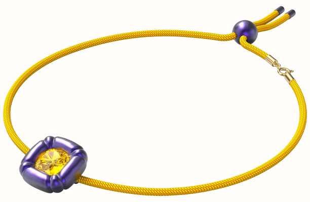 Swarovski Dulcis | Necklace | Cushion Cut Out Crystals | Purple/Yellow 5613645