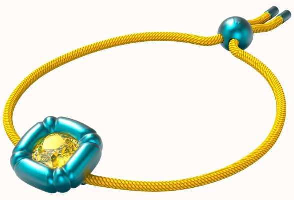 Swarovski Dulcis | Bracelet | Cushion Cut Crystals | Blue/Yellow 5613667