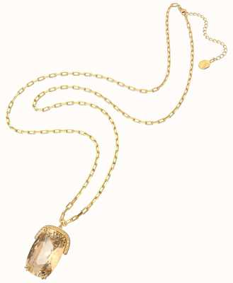 Swarovski Harmonia | Pendant Necklace | Over-Sized Crystals | Yellow, Gold-tone Plated 5616514
