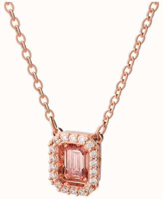 Swarovski Millenia | Necklace | Rose Gold-Tone Plated | Octagon Cut | Pink 5614933