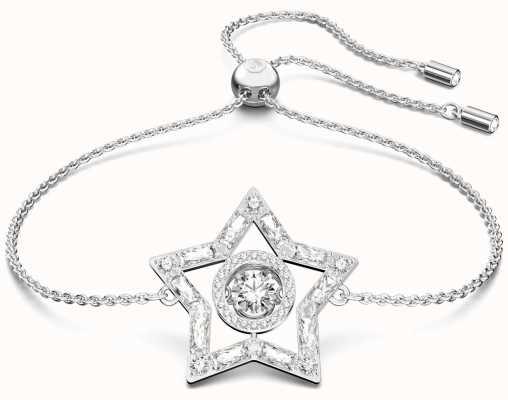 Swarovski Stella | Bracelet | Star Pendant | Rhodium Plated | White 5617881